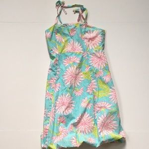 Lilly Pulitzer girls bubble sundress size 14